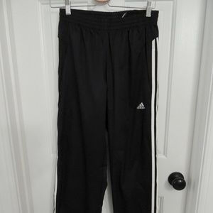 NWT Men's Adidas Black Track Pants Size Small